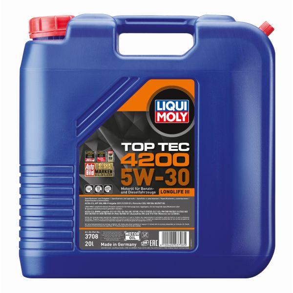 Liqui-Moly Sintetinė alyva Top Tec 4200 5W-30 20L