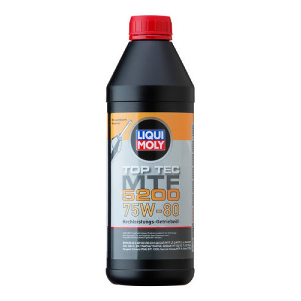 Liqui Moly transmisinė alyva Top Tec MTF 5200 75W-80, 1L