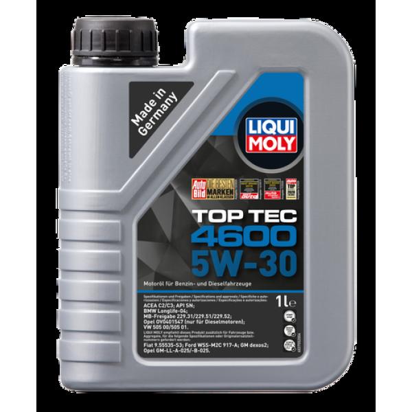 Liqui-Moly Sintetinė variklinė alyva  Top Tec 4600 5W-30 1L