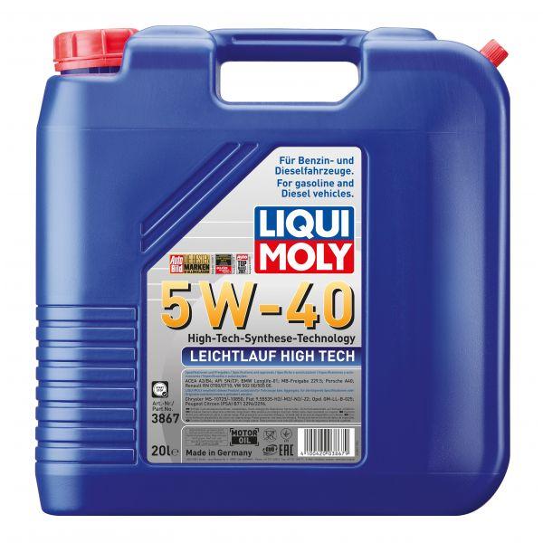 Liqui-Moly Leichtlauf High Tech 5 W-40 20L