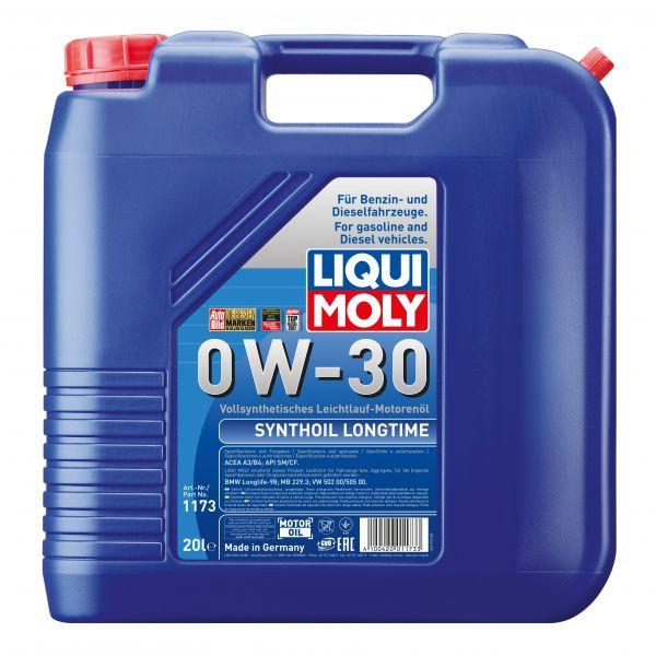 Liqui-Moly Sintetinė alyva Synthoil Longtime 0W-30 20L