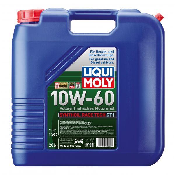 Liqui-Moly Sintetinė alyva Synthoil Race Tech GT1 10W-60 20L