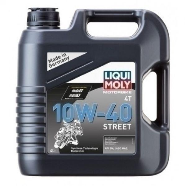 Liqui-Moly STREET 4T 10W-40, 4L