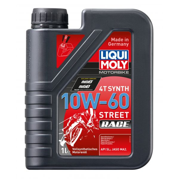 Liqui-Moly Synth 4T Synth 10W-60 RACE, 1L