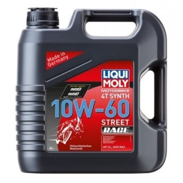Liqui-Moly Synth 4T Synth 10W-60 RACE, 4L