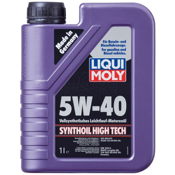 Liqui-Moly Synthoil High Tech 5W-40 1L