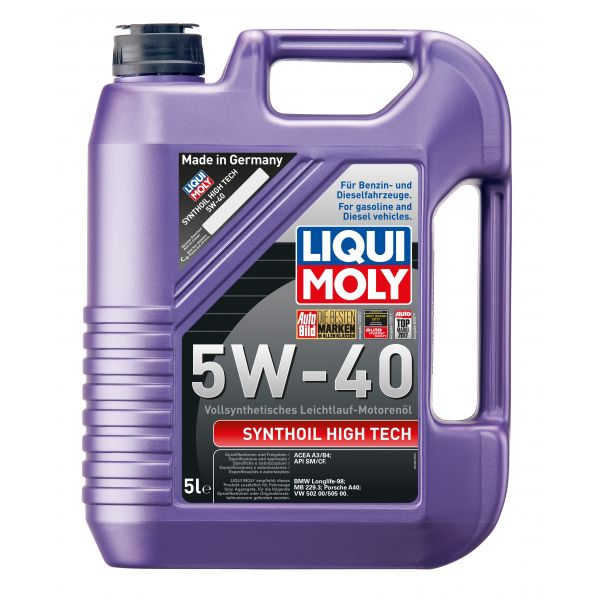 Liqui-Moly Synthoil High Tech 5W-40 5L