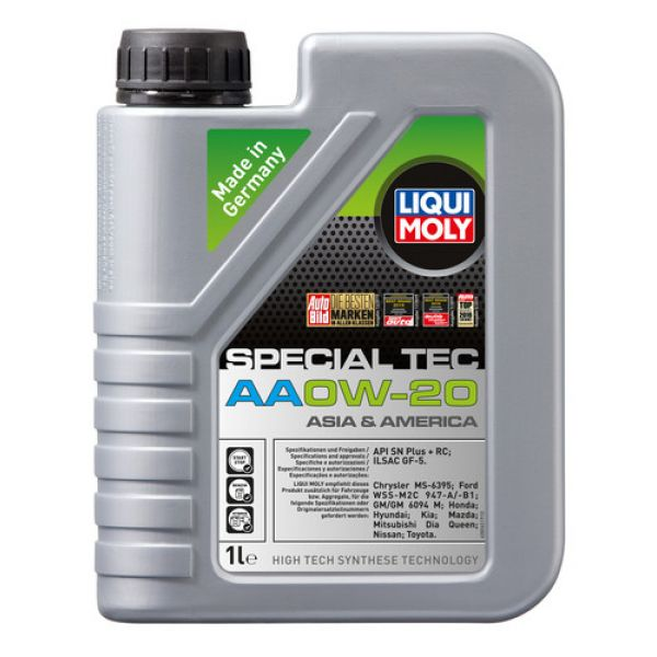 Liqui-Moly Sintetinė variklinė alyva SPECIAL TEC AA 0W-20, 1L